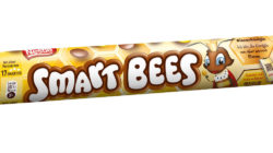 Yellow SMART BEES packaging with queen bee