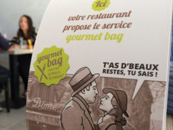 "France is the first country in the world to have passed a law against food waste. The ""gourmet bag"" is to encourage guests at restaurants to take home any unfinished food."