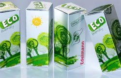 An appealing air of refinement can also be created with packaging made from renewable resources. Photo: Edelmann